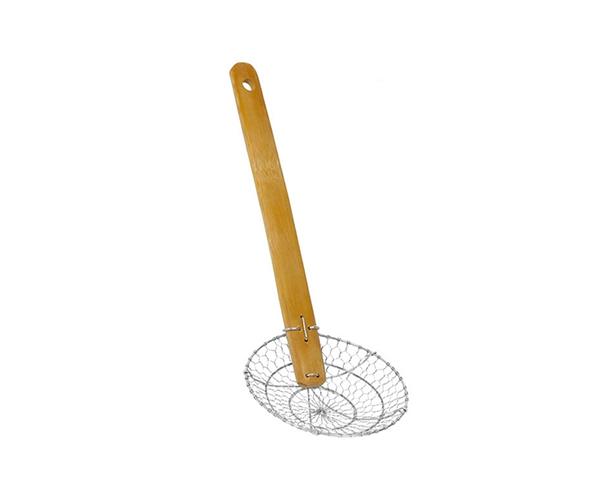 Flat Bottom Noodle Skimmer Basket