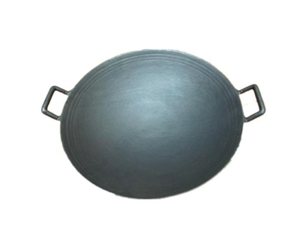 Traditional Chinese Cast Iron Enamel Coating Wok
