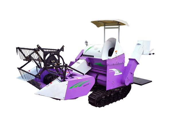 Rice-wheat Combine Harvester Machine