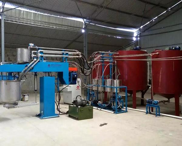 Polyurethane Automatic Batch Mattress Sponge Foam Making Machine