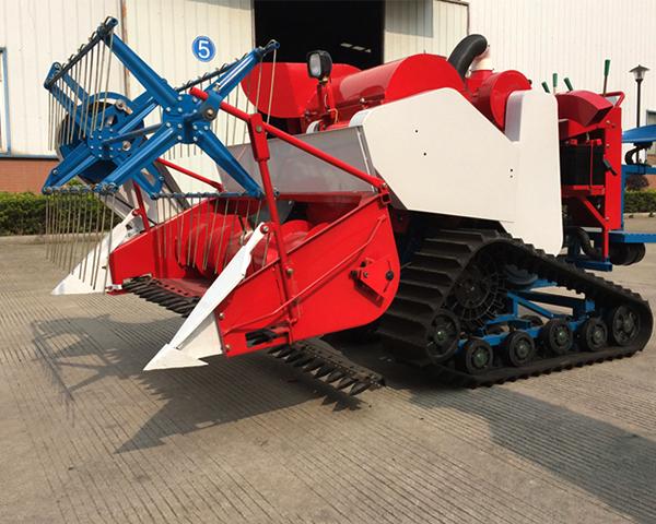 Crawler Type Full Feeding Combine Harvester Machine