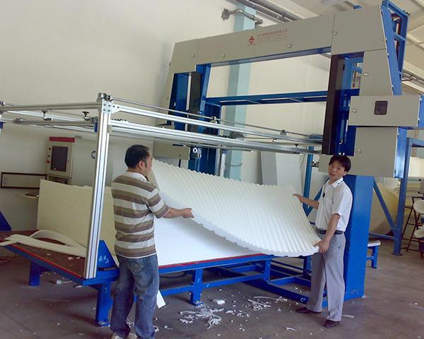 CNC Sponge Cutting Machine