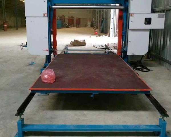 Automatic Horizontal Foam Cutting Machine