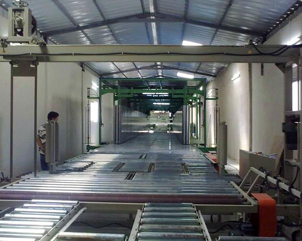 Continuous PU Foam Machine Line