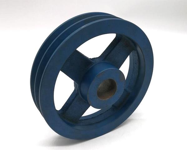 Custom Cast Iron Belt Pulley