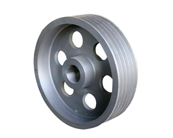 Cast Grey Iron Belt Bandsaw Pulley for Rope Steel Cable