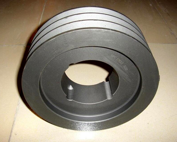 Cast Iron Flat Mount Precision Timing Pulley
