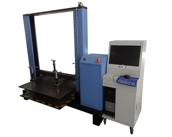 Computer Control Package Testing Equipment Carton Resist Compression Test Machine
