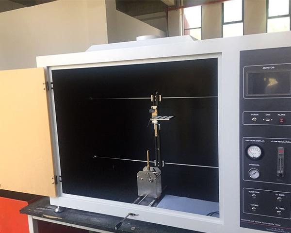 Touch Screen Horizontal & Vertical Flammability Tester