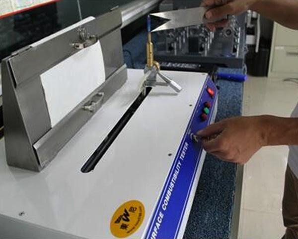 Pro Surface Flammability Lab Test Equipment
