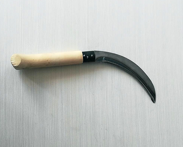 6.5 Inch Carbon Steel Grass Harvesting Sickle Knife