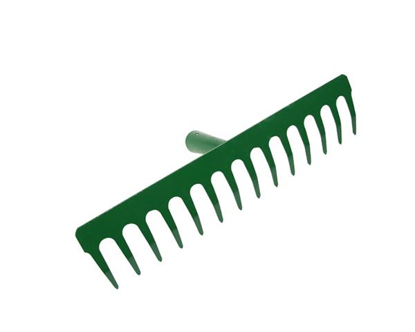 Steel Garden Rake Head 14 Teeth Farming Rakes