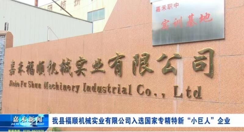 Fushun Machinery Industry Co., Ltd. Was Selected As the National Specialization And Special New Little Giant Enterprise