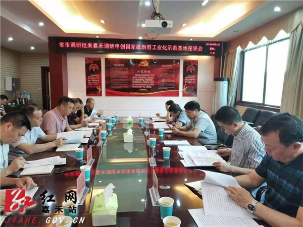Provincial and municipal research teams came to Jiajia to investigate Shenchuang National New Industrialization Demonstration Base